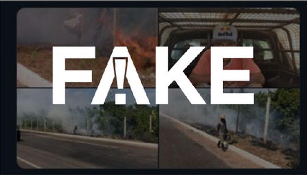 1 100 É #FAKE que integrante do MTST foi preso após ser pago para incendiar mata no Amazonas
