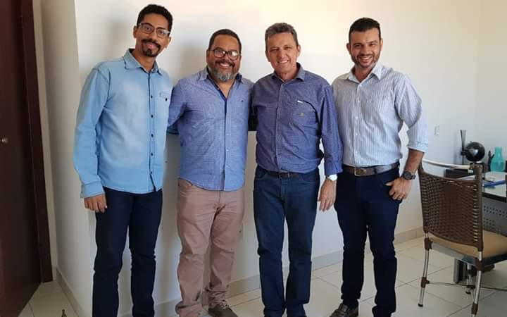 Inmep de Guanambi se reúne com Deputado Federal Charles Fernandes