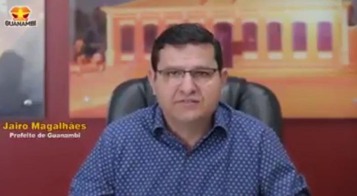 1 37 Mensagem do prefeito Jairo Magalhães pela passagem do Centenário de Guanambi