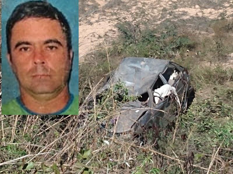1 4 Mototaxista guanambiense morre após capotar carro na BR-430 em Igaporã