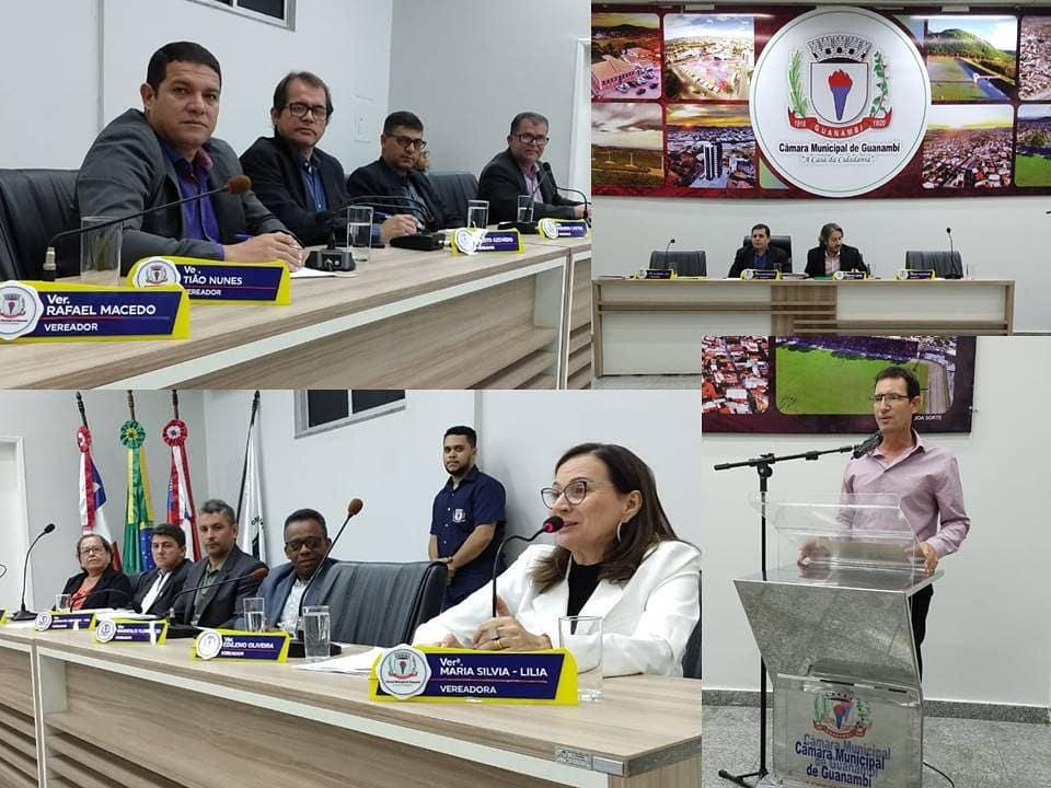 1 68 Câmara de Guanambi aprova fim de reeleição para mesa diretora