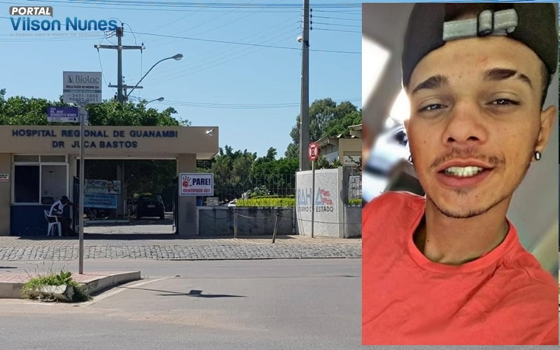 Guanambi: Jovem não resiste e morre no HRG após ser atingido a tiros no bairro Brindes