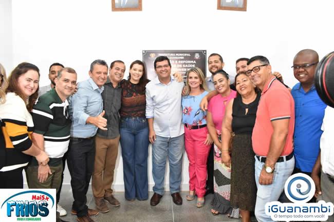 Prefeitura de Guanambi entrega Complexo Viário e Unidade de Saúde do bairro BNH
