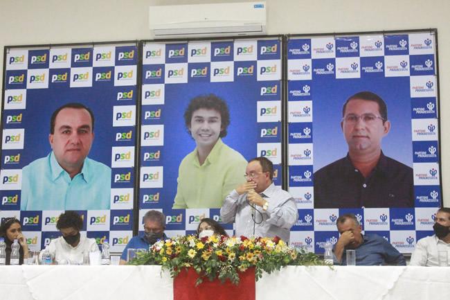ok 81 Convenção Partidária em Candiba oficializa Reginaldo Prado como candidato à prefeitura