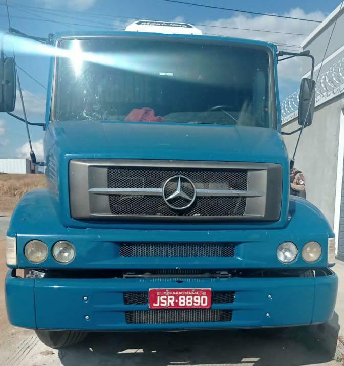 WhatsApp Image 2021 06 13 at 19.59.47 Polícia Militar apreende caminhão com sinais de adulteração em Guanambi