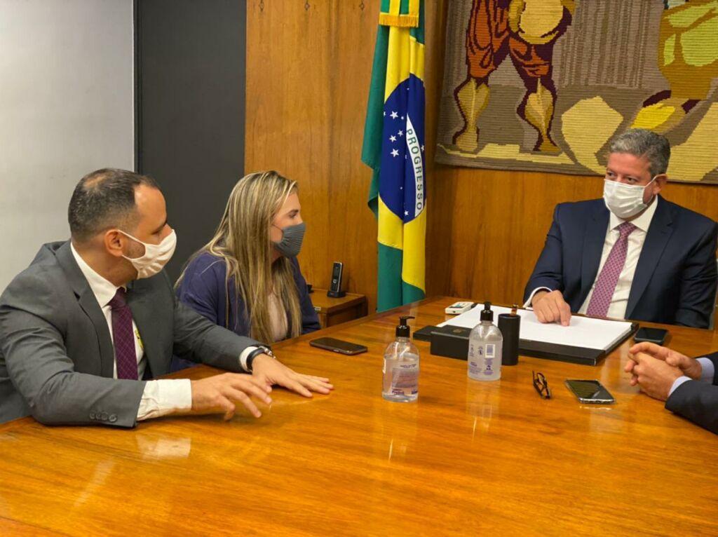 WhatsApp Image 2021 06 16 at 18.25.40 Augusto Vasconcelos se reúne com Presidente da Câmara dos Deputados