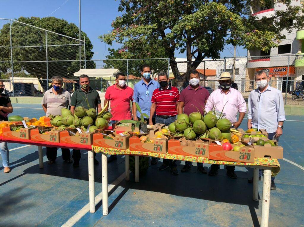 FEIRA DA AGRICULTURA 2 Feira da Agricultura Familiar tem apoio da Prefeitura em Sebastião Laranjeiras