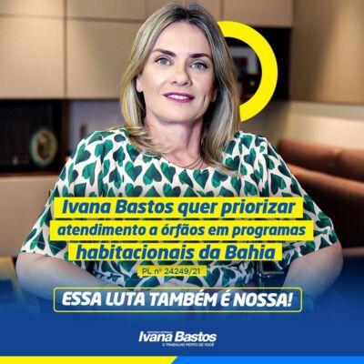 PL 24249.21 e1627423216558 PL de Ivana prioriza atendimento a órfãos em programas habitacionais da Bahia