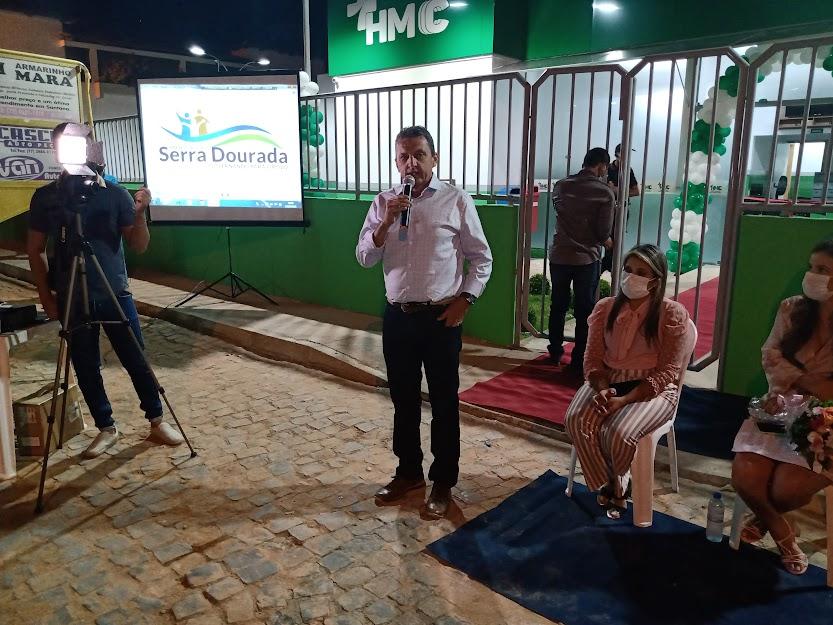 SERRA DOURADA 4 Deputado Charles Fernandes participa da inauguração do Hospital Municipal em Serra Dourada e anuncia recursos para o município