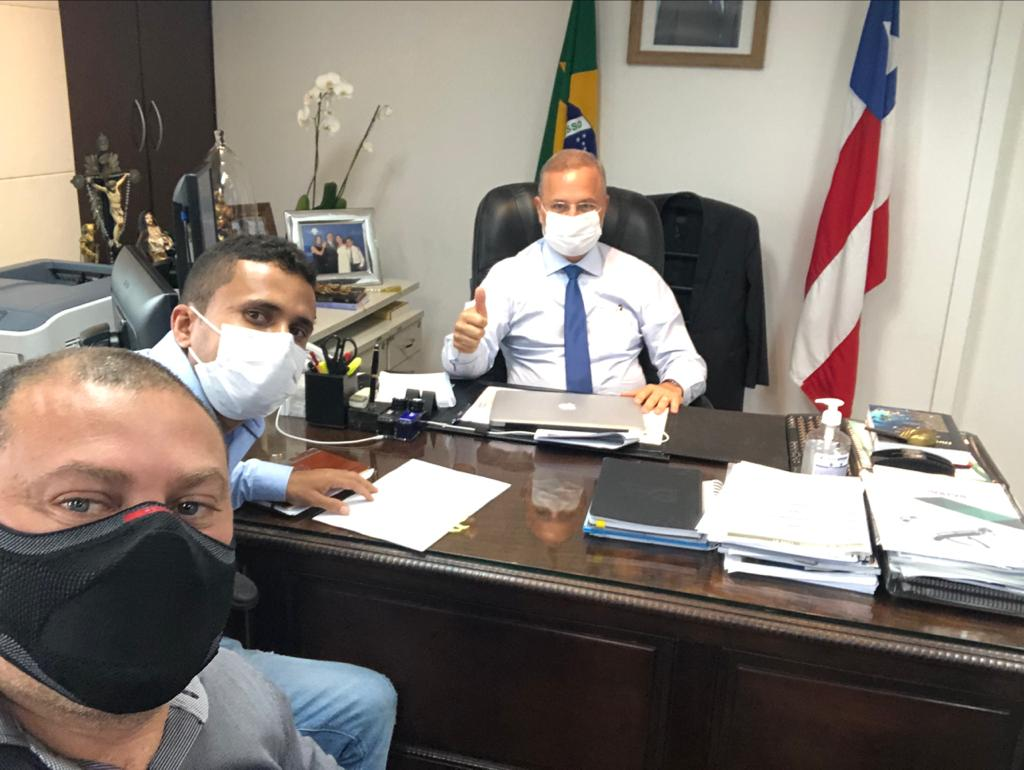 WhatsApp Image 2021 07 21 at 09.45.38 Com emenda do Deputado Charles Fernandes, SESAB libera equipamentos para saúde de Serra do Ramalho