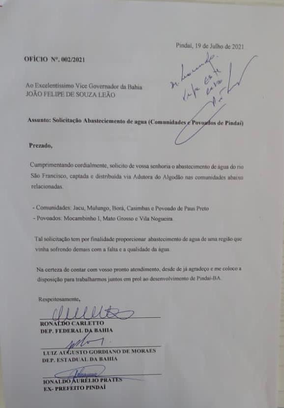 WhatsApp Image 2021 07 21 at 12.27.04 Ex-Prefeito de Pindaí e vereadores tiveram em audiência com o Vice-Governador João Leão