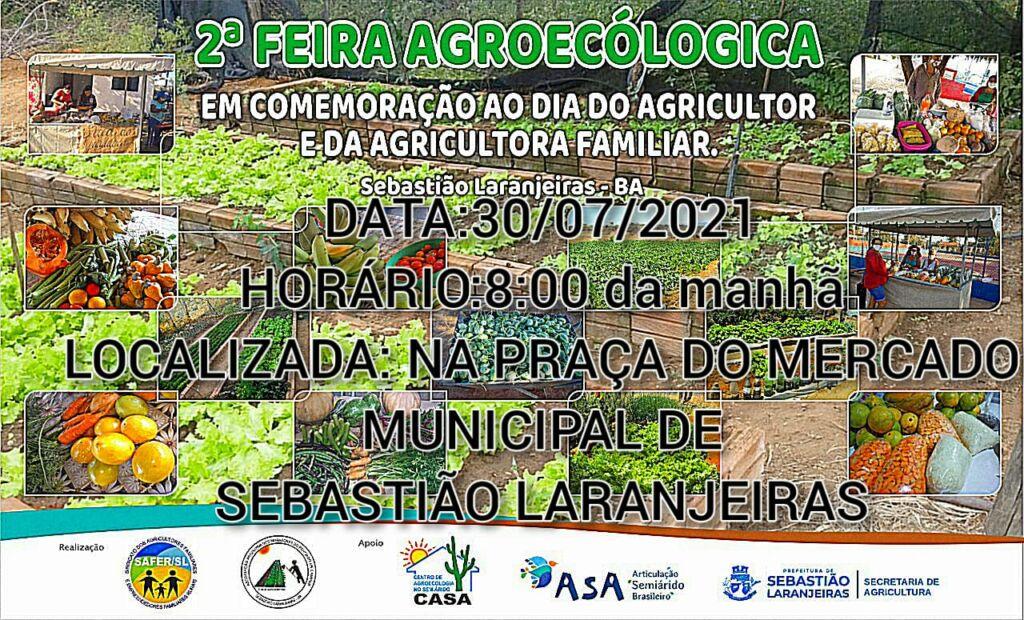WhatsApp Image 2021 07 28 at 15.46.51 Sebastião Laranjeiras irá sediar Feira da Agricultura Familiar