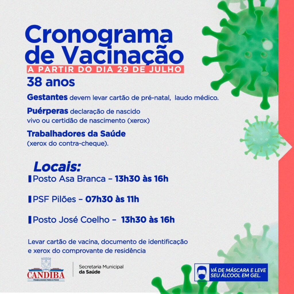 WhatsApp Image 2021 07 28 at 16.07.47 1 Prefeitura de Candiba divulga cronograma de vacinação contra a covid-19 para 38 anos