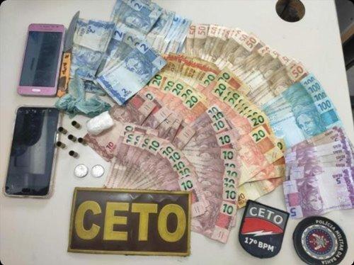 WhatsApp Image 2021 07 31 at 15.30.44 Guanambi: Dois maiores e um menor são detidos, após serem flagrados com drogas, no bairro Alto Caiçara