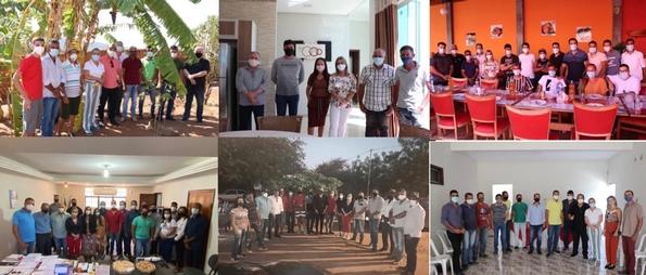 AGENDA MUNICIPIOS Ivana Bastos cumpre agenda de trabalho por municípios baianos