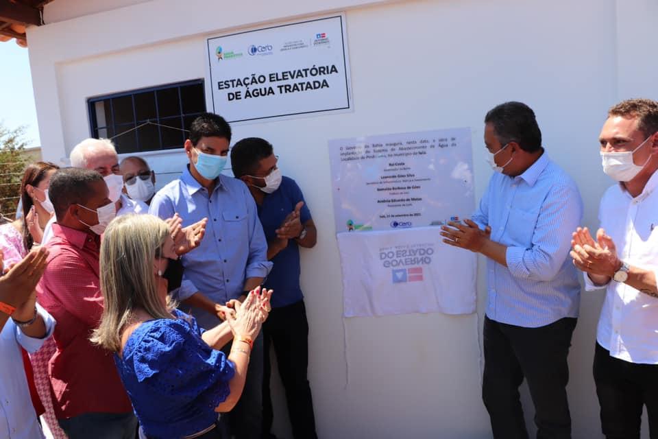 IUIU AGUA Ivana e Governador entregam grandes investimentos para Iuiu