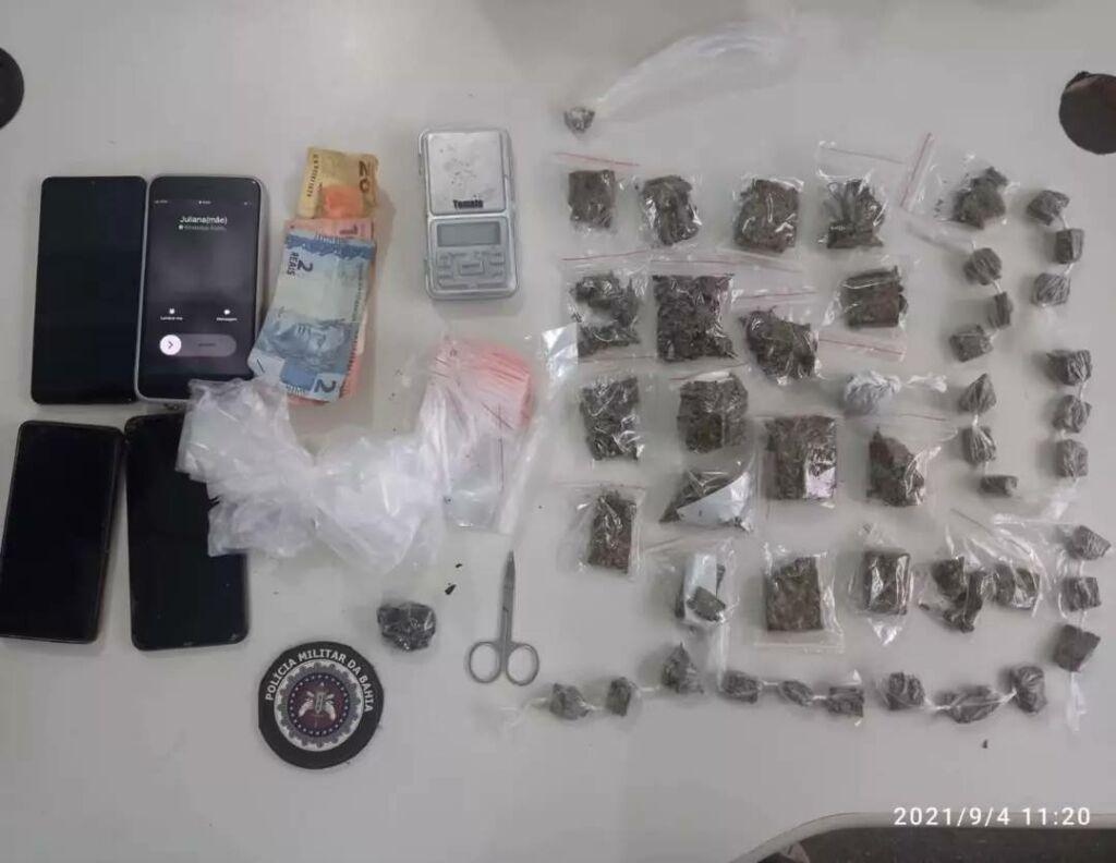WhatsApp Image 2021 09 04 at 19.23.24 PM prende três pessoas com drogas em Guanambi