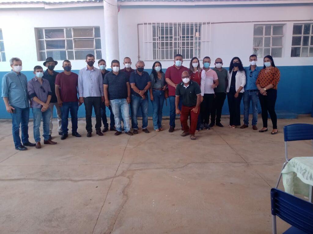WhatsApp Image 2021 09 17 at 18.24.29 Prefeitos de Urandi e Sebastião Laranjeiras participam de Assembleia Geral do Projeto Estreito
