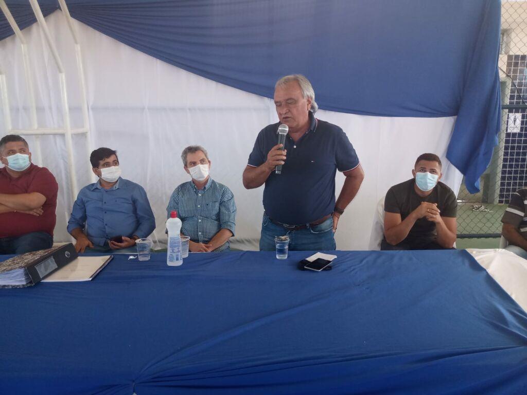 WhatsApp Image 2021 09 17 at 18.24.30 3 Prefeitos de Urandi e Sebastião Laranjeiras participam de Assembleia Geral do Projeto Estreito