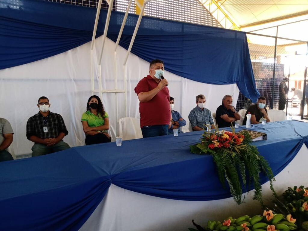 WhatsApp Image 2021 09 17 at 18.25.34 Prefeitos de Urandi e Sebastião Laranjeiras participam de Assembleia Geral do Projeto Estreito