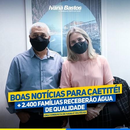 caetite1 Deputada e prefeito garantem água de qualidade para 2.400 famílias de Caetité