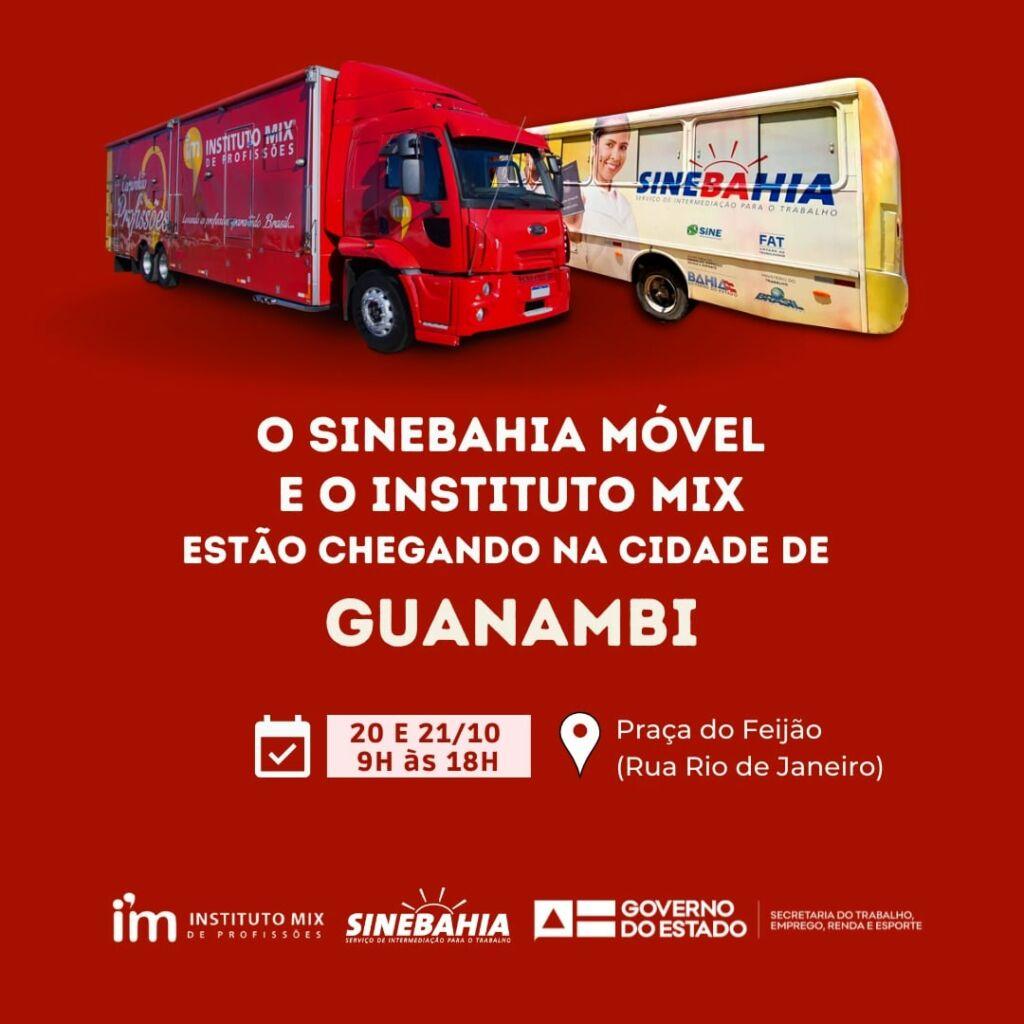 245960898 4647636301934719 2908837577045771223 n SineBahia Móvel e Instituto Mix chegam a Guanambi
