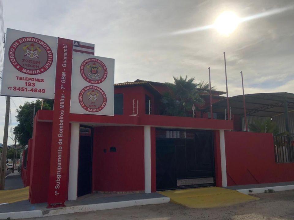 Corpo de Bombeiros Guanambi Bebê de 11 meses é salvo pelo corpo de bombeiros em Guanambi após engasgar