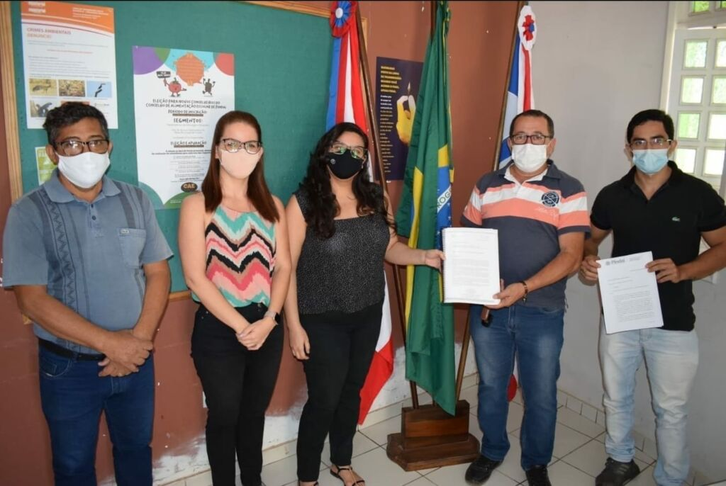 WhatsApp Image 2021 10 15 at 13.18.25 Prefeitura de Pindaí apresenta Plano Municipal de Saneamento Básico