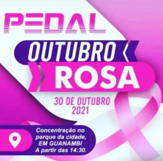 """WhatsApp Image 2021 10 15 at 13.50.29 """"Pedal Outubro Rosa"""" acontece no dia 30 de outubro em Guanambi"""