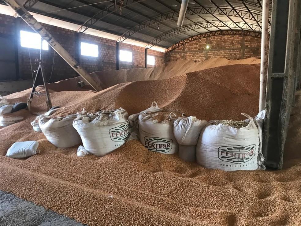 whatsapp image 2021 10 18 at 09.52.28 Funcionários são feitos reféns por homens armados em fazenda no oeste da BA e 120 toneladas de milho são roubadas